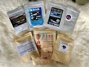 Benibachi Ebita Breed Snowflake Spinach Barley Shrimp Food Sample Combo Package