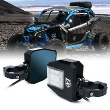 "Xprite Utv Rear View Side Mirrors w/ Spotlight Anti-Glare Fits 1.5"" to 2.5"" Bars (Fits: Wolverine X4)"