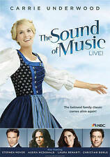* The Sound of Music Live! (DVD, 2014 ) Carrie Underwood, Stephen Moyer Gift New