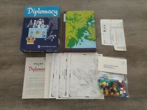 Diplomacy, Avalon Hill, strategy boardgame rpg