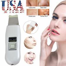 Porable Facial Ultrasonic Ultrasound Ion Skin Scrubber Face Tender Care Machine
