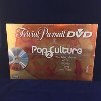 Trivial Pursuit DVD Pop Culture 2 Board Game New NIB Sealed