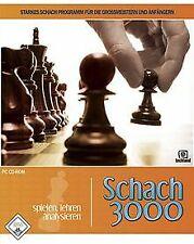 Schach 3000 (PC) von Techland   Game   Zustand sehr gut