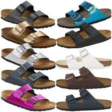 Birkenstock Arizona Birko Flor Schuhe Sandalen Pantoletten Hausschuhe Clogs