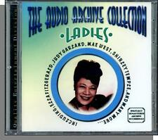 The Audio Archive Collection: Ladies - New 20 Song CD! Ella, Judy, Dinah, Lena