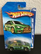 Hot Wheels 2008 Mitsubishi Lancer Evolution Clone
