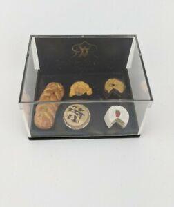 Dollhouse Miniature Reutter Bread Desserts Pies