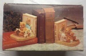Colour Library Books Animal Friends Ceramic Bookends Teddy Bears Teddy's Day Out