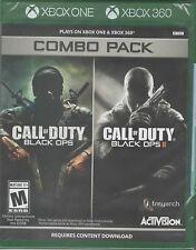 Call of Duty: Black Ops 1 & 2 Combo Pack Xbox 360 New Xbox 360, Xbox 360