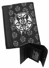 MICKEY 666 Mens Wallet Black Faux Leather / Gifts for men / Novelty / Occult /