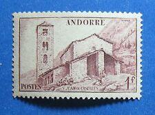 1944 ANDORRA FRENCH 1Fr SCOTT# 85 MICHEL # 103 UNUSED NH                 CS27612