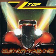 ZZ Top Guitar Tab ELIMINATOR Lessons on Disc
