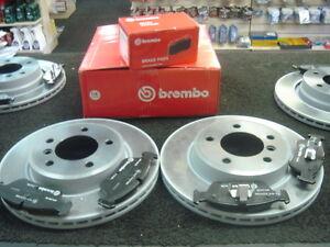 BMW X5 E70  2.9TD 3.0TD 4.4 BRAKE DISC DISCS ORIGINAL BREMBO +  PADS FRONT