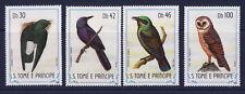 r  S. TOME ET PRINCIPE   oiseaux  792/95    **