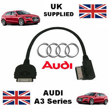 AUDI A3 Serie Ami Mmi 4F0051510K iPhone iPod Cable Usb Y Aux Repuesto