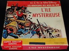 *** FILM SUPER 8MM COULEUR SONORE 60 METRES - L'ILE MYSTERIEUSE / ROBINSON ***