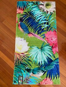 NEW Luxotic Towel Beach Pool 100% Cotton 80x160cm Soft Thin Absorbent Tropical