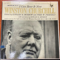 "RARE Winston Churchill ""I Can Hear It Now"" Winston Churchill LP And Photo Book"