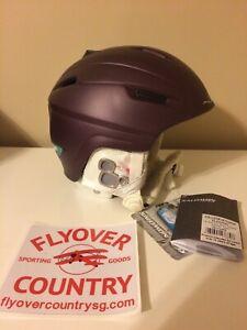 NWT Salomon Icon Custom Air Snow Helmet Purple XXS Free Shipping