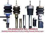 FBX-F-VOL-42 1996-2006 Volkswagen Passat Euro 2wd Front Air Suspension ride kit