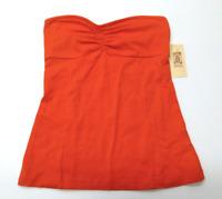 Decree Junior Womens Size XL Orange Sleeveless Shirt New