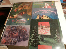Collection of 5 CHRISTMAS Records S Franchi, A Fiedler, G Lombardo, Xmas Party !