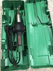 Leister Triac BT Welder Heat Gun Tarpaulin