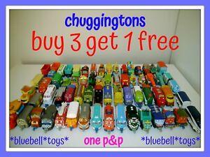 Chuggington Trains Die Cast & Plastic Carry Case Stack Track BUY 3 get 1 FREE