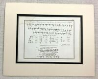 1821 Antique Print Ancient Phoenician Alphabet Text Script Levant Language