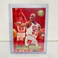 1995-96 Fleer Ultra Michael Jordan Gold Medallion Double Trouble Card #3