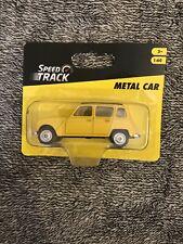 Vehicule Miniature 1:60 Speed Track Metal Car