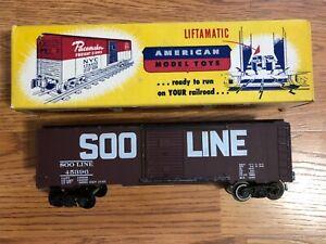 AMT (Auburn Model Toys) postwar SOO Boxcar in original box, RARE, Nice!
