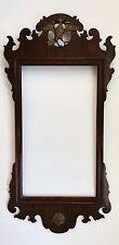 An Antique American Chippendale Parcel Gilt Mahognony Mirror Frame
