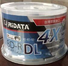 Blue Ray Disc BD-R 50GB bluray DVD BDR 50g inkjet Printable 4X 10pcs/lot 4.9