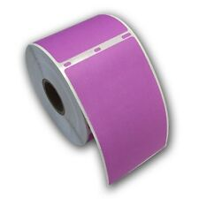 "6 RJS Purple Shipping Labels, 2 5/16"" x 4"", Compatible w/DYMO 30256"