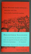 Berlinführer Geschichte Edition Gauglitz Stadtplan Neu