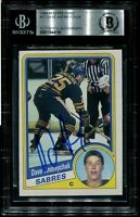HOF DAVE ANDREYCHUK signed autographed 1984-85 OPC ROOKIE CARD RC BECKETT BAS