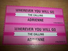 """2 The Calling Wherever You Will Go Jukebox Title Strip CD 7"""" 45RPM Records"""