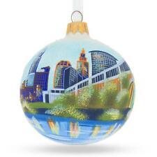 Cleveland, Ohio Glass Ball Christmas Ornament