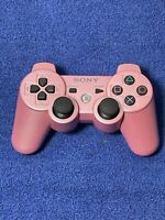PS3 Wireless Controller Pink CECHZC2U Official Sony OEM Playstation 3 Tested