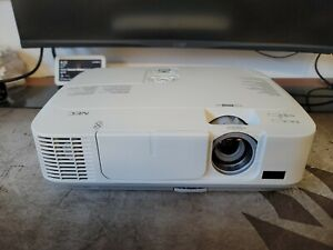 NEC NP-M300X LCD HDMI 3000 ANSI Lumens Projector 1903 Used Lamp Hours EXCELLENT