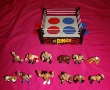 WWE Mattel Rumblers Blast and Bash Battle Ring with 12 Figures