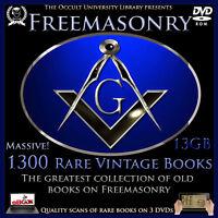 Occult Books FREEMASONRY Freemason Masonry Templar Spiritual Illuminati Masonic