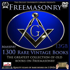 Occult Books FREEMASONRY Freemason Masonry Templar Illuminati Masonic ebooks .
