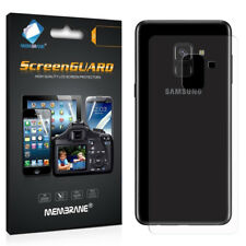 3 x Clear Screen Display Protector Film Foil For Samsung Galaxy A8 2018 BACK