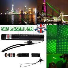 Green Laser Pointer Pen 1mw Powerful Adjustable Focus 532nm Lazer pointers UK
