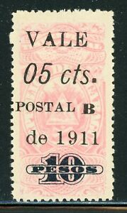 Nicaragua Bluefields Specialized: MAXWELL #LB159c 5c/10P LARGE SQUARE PERIOD $$$