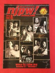 NJPW World Tag League 2014 Official Program Japan Pro Wrestling