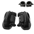 Lower Vented Leg Fairing & 6.5'' Speakers Pods For Harley Touring Glide 83-13 US