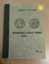 Library of Coins Roosevelt Head Dimes 1946-, Vol. 11-No coins